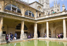 Ancient Roman Baths Royalty Free Stock Images