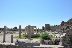 The ancient Roman baths Stock Photos