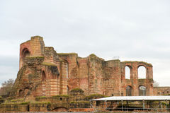 Ancient Roman baths ruins Royalty Free Stock Image