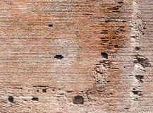 Ancient Roman Brick Wall Stock Photos