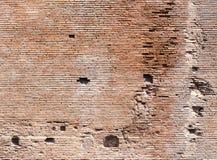 Ancient Roman Brick Wall Stock Photos