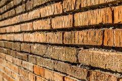 Ancient Roman Brickwork and Markings. Ancient Roman Brickwork with markings etched into the stone indicating sales Royalty Free Stock Image