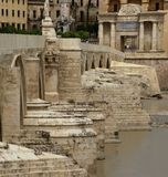 Ancient Roman Bridge Stock Images