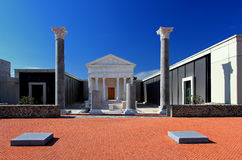 Ancient roman building Royalty Free Stock Photography