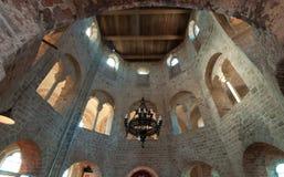 Ancient roman chapel Stock Photos