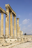 Ancient Roman city of Gerasa modern Jerash Stock Image