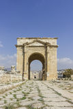 Ancient Roman city of Gerasa modern Jerash Royalty Free Stock Images