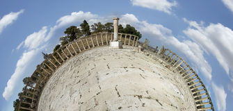 Ancient Roman city of Gerasa modern Jerash Royalty Free Stock Photography