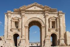 Ancient roman city Jerash, Jordan Royalty Free Stock Images