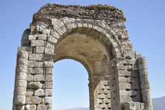 Ancient Roman city located in Caceres, Extremadura, Spain Royalty Free Stock Images