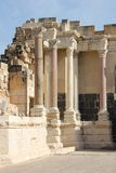 Ancient roman city. National park near Beit Shan. Israel Stock Photography