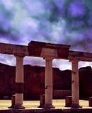 Ancient Roman city of Pompeii Stock Photos
