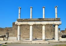 Ancient Roman city of Pompeii Stock Photo