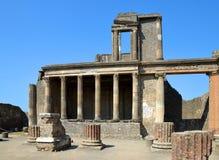 Ancient Roman city of Pompeii Royalty Free Stock Photo