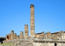 Ancient Roman city of Pompeii Stock Image