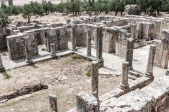 Ancient Roman city in Tunisia, Dougga Stock Photos