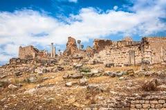 Ancient Roman city in Tunisia, Dougga Royalty Free Stock Images