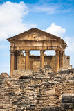 Ancient Roman city in Tunisia, Dougga Royalty Free Stock Photos