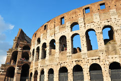 Ancient Roman Colosseum Royalty Free Stock Photography