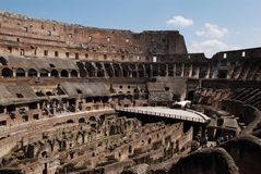 Ancient roman Colosseum Stock Images
