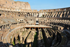 Ancient roman colosseum in Rome, Italy Royalty Free Stock Photography