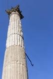 Ancient Roman column Stock Image