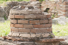 Ancient Roman column Stock Images