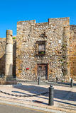 Ancient roman column in Tarragona city, Spain Stock Image