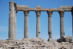 Ancient roman columnes Stock Images