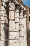 Ancient Roman columns royalty free stock photo