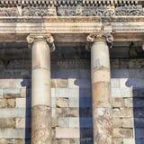 Ancient Roman Columns Stock Image