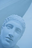 Ancient roman face. Ancient roman bust Royalty Free Stock Photography