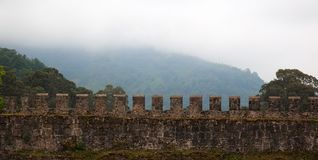 Ancient Roman Fortress. Gonio. Georgia. Royalty Free Stock Photo