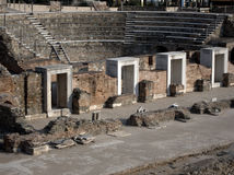 Ancient Roman forum Royalty Free Stock Images