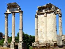 Ancient Roman Forum - Rome, Italy Royalty Free Stock Photo