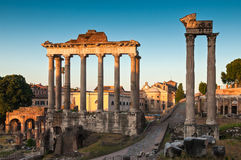 Ancient Roman Forum, Rome Royalty Free Stock Photography