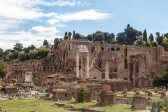 Ancient Roman Forum View Stock Photos