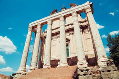 Ancient Roman Forums in Rome, Italy Stock Photography
