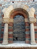 Ancient roman gate Stock Photo