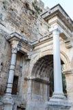 Ancient Roman gate Royalty Free Stock Photo