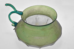 Ancient Roman glass bowl Royalty Free Stock Image