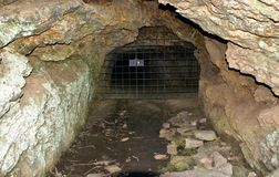 Ancient Roman gold mine in Tresminas Stock Photography