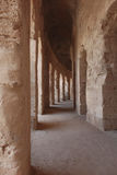 Ancient Roman hallway Royalty Free Stock Photos