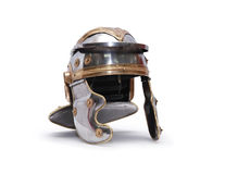 Ancient Roman Helmet Stock Photo