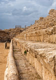 Ancient Roman hippodrome in Caesarea. Israel Stock Photography