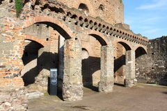 Ancient roman house Stock Photos