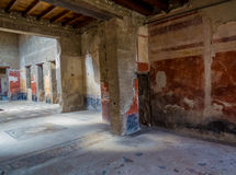 Ancient Roman house in Pompeii Royalty Free Stock Photography
