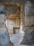 Ancient Roman house in Pompeii Royalty Free Stock Photos