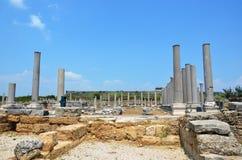 ancient roman izmir turkey, bergama, city life Stock Photos