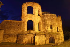 Ancient roman kaiserthermen in trier Royalty Free Stock Image